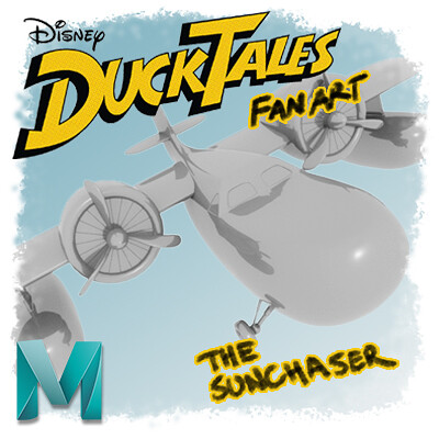 The Sunchaser from DuckTales