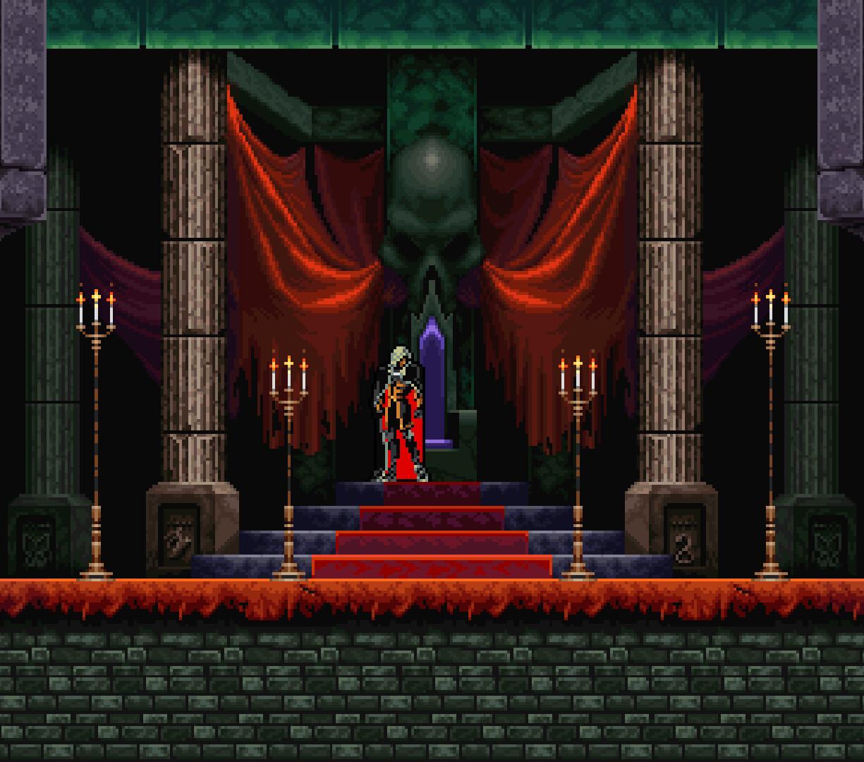 Castlevania: Symphony of the Night  (Konami)