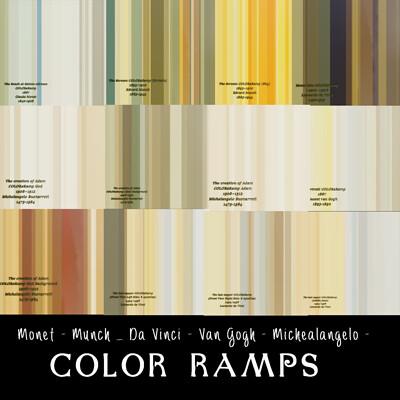 Michael klee color ramp painter
