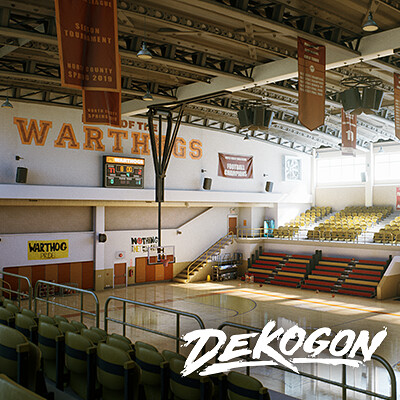 Dekogon Warthog's Highschool Gym (UE4)