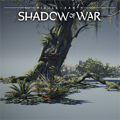Middle-Earth: Shadow of War - Vegetation | Asset Shots