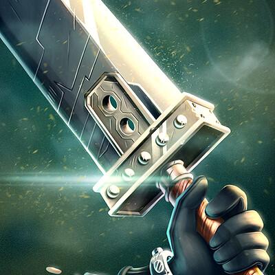 Felipe blanco buster sword 4