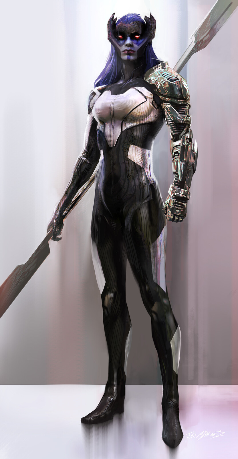AVENGERS Infinity War: Proxima Midnight Design