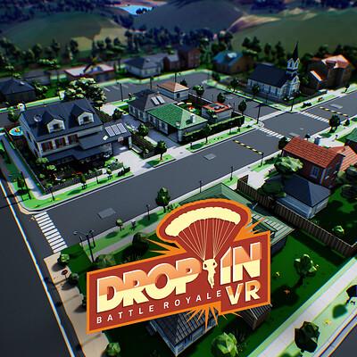 Drop In - Battle Royale VR Map - UE4