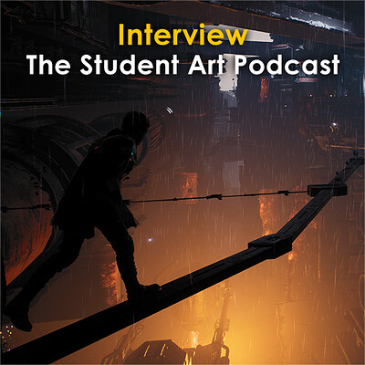 The Student Art Podcast Interview (May 2020) - How to Become a Senior Environment Artist