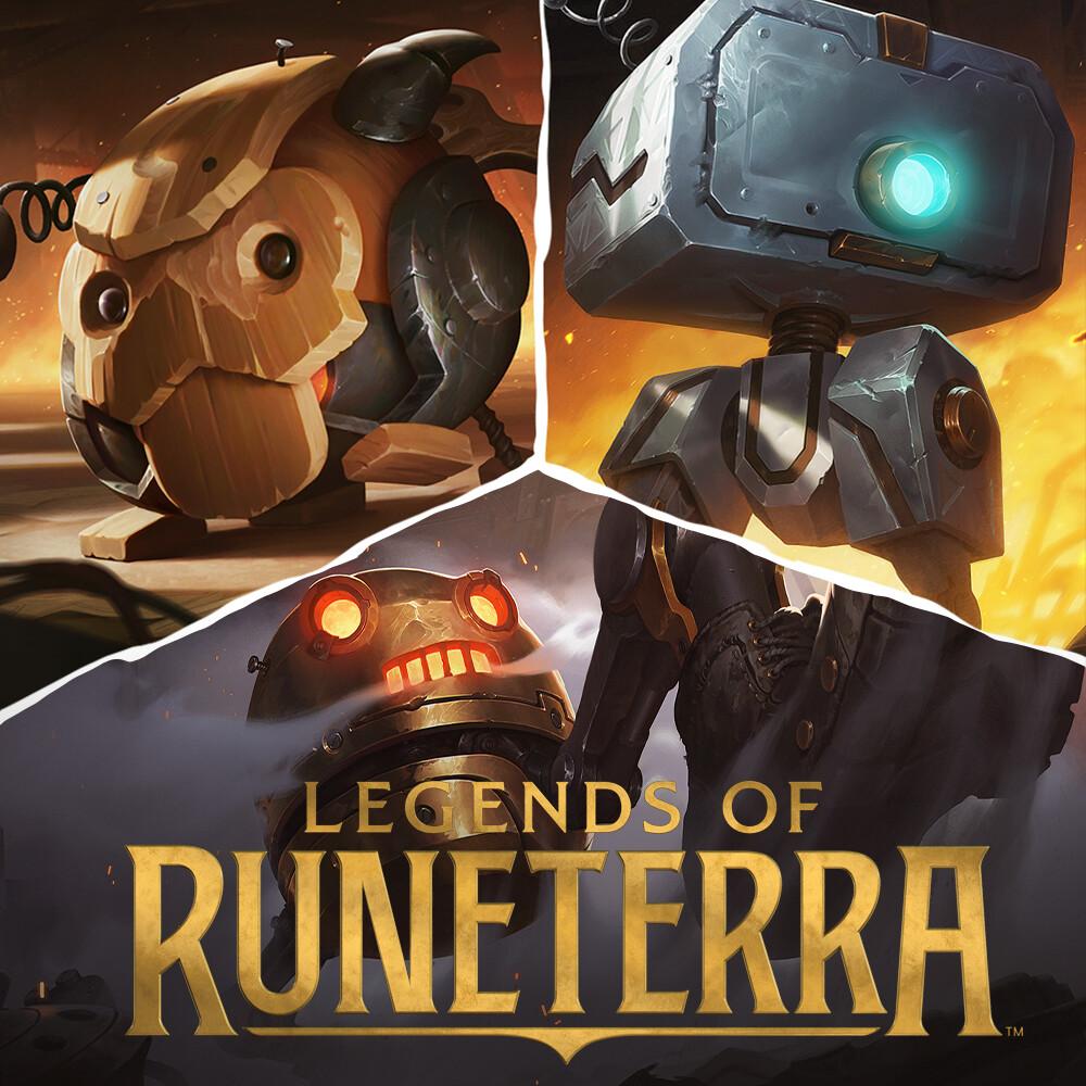 set robot - Legends of Runeterra