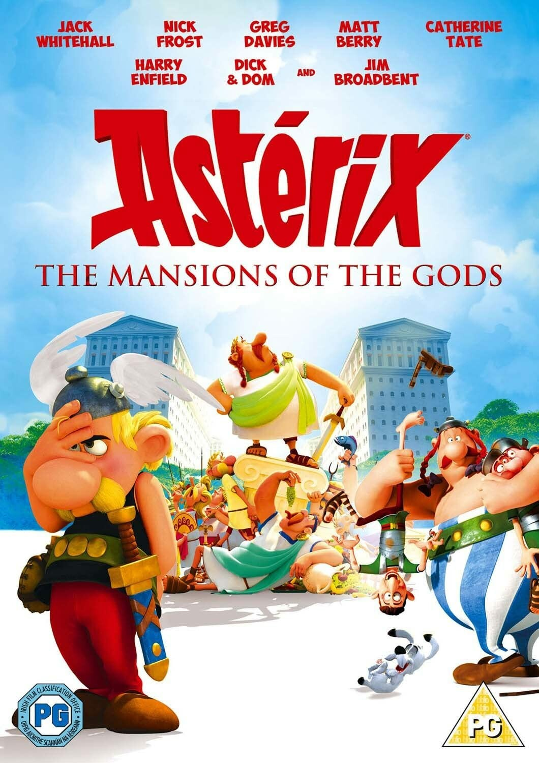 Asterix - Mansions of the Gods