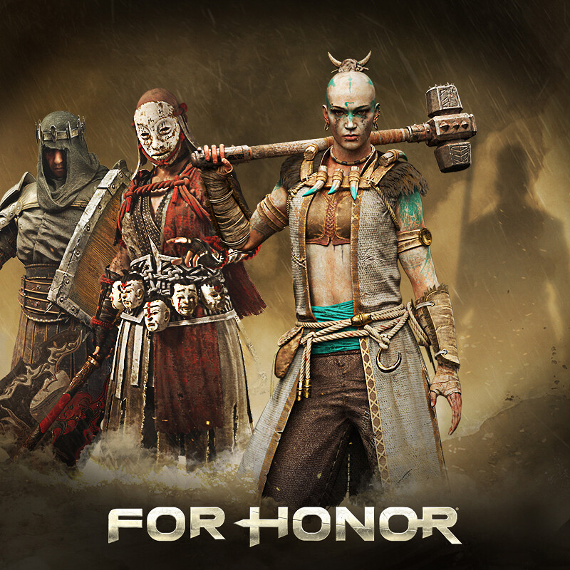 For Honor - Y3 Character Illustration