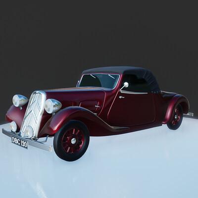 Citroen Traction Roadster 1939