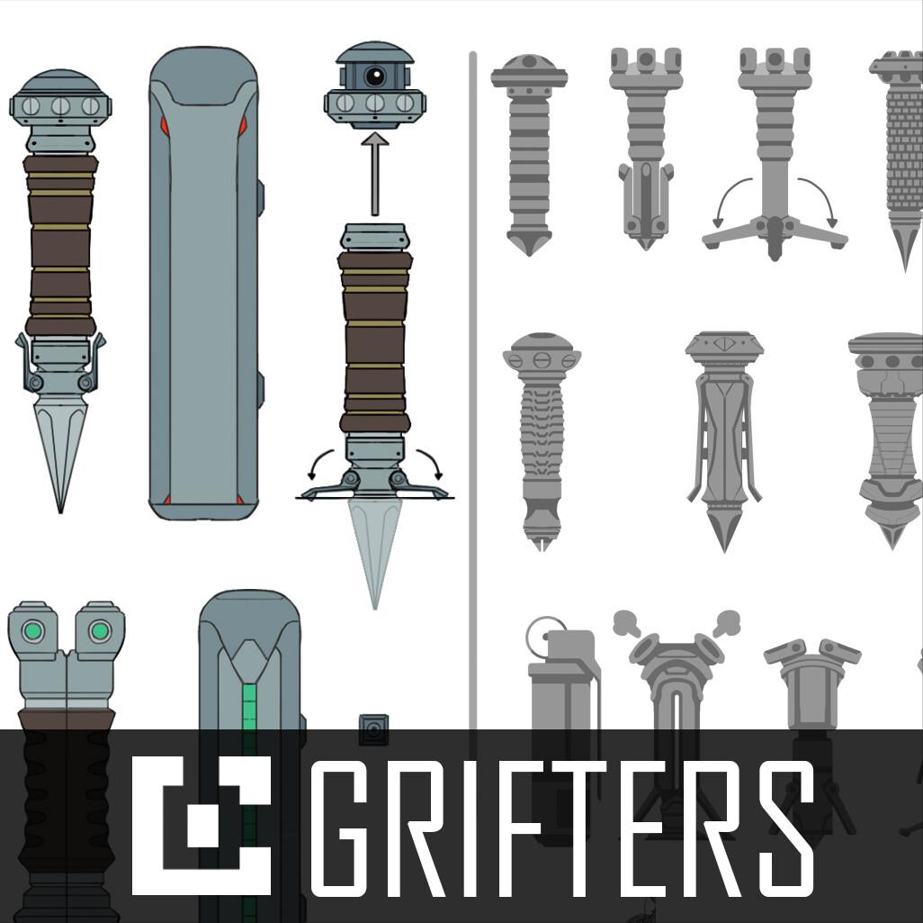 GRIFTERS: Prop Sheet