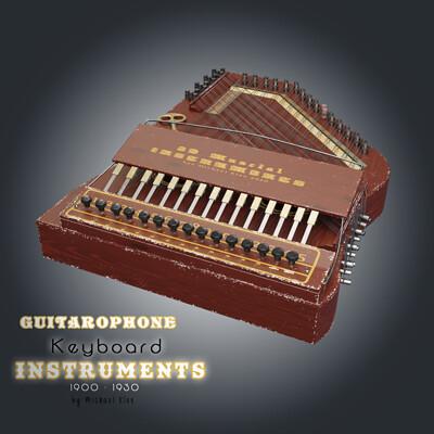 Michael klee giutarophonekeyboard instruments 1900 1930 by michael klee