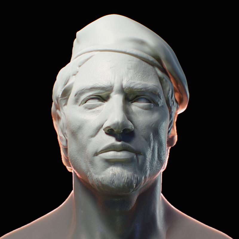 Head Sculpt for a W.I.P Chracter