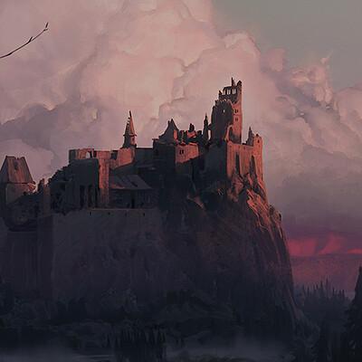 Jeremy paillotin jeremy paillotin castle dusk