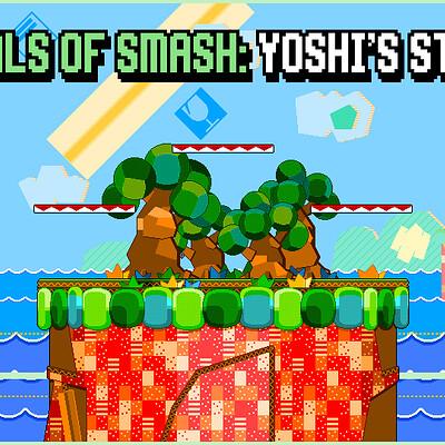 Daniel bernal daniel bernal 04ae pixel melee yoshi s story