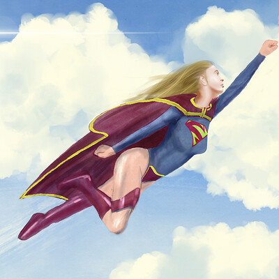 Pascal masonstyle zirn pascal masonstyle zirn supergirl painting final4web