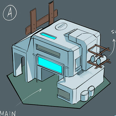 Before We Leave - Game Concept Art - Electronics
