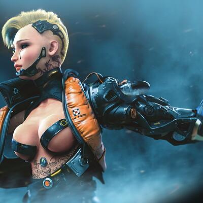 Mohammx h attaran mohammx h attaran cyborggirl 05