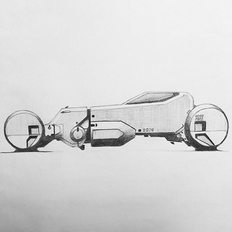 Vehicle sketch 03