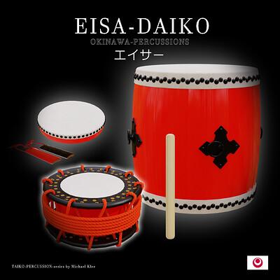 Michael klee michael klee eisa daiko okinawa percussions by michael klee1