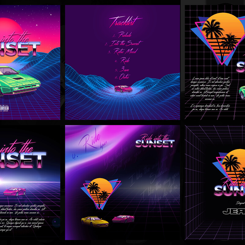Ride into the Sunset | Publication Design