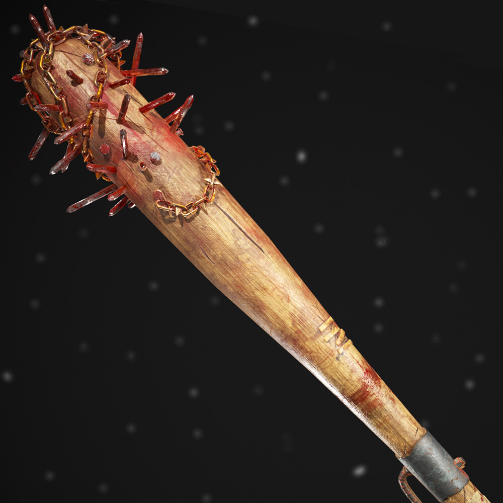 Zombie Baseball Bat Weapon