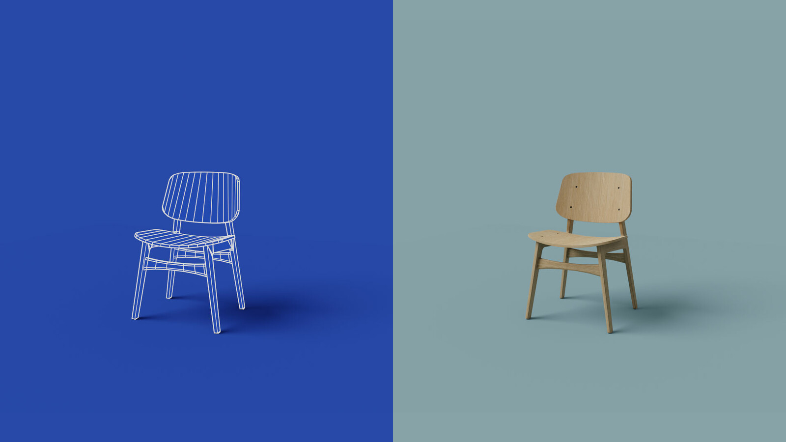 Low-poly Chair