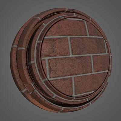 Brick Wall Smart Material