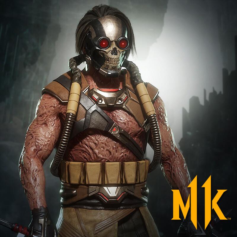 Kabal Present (Mortal Kombat 11)
