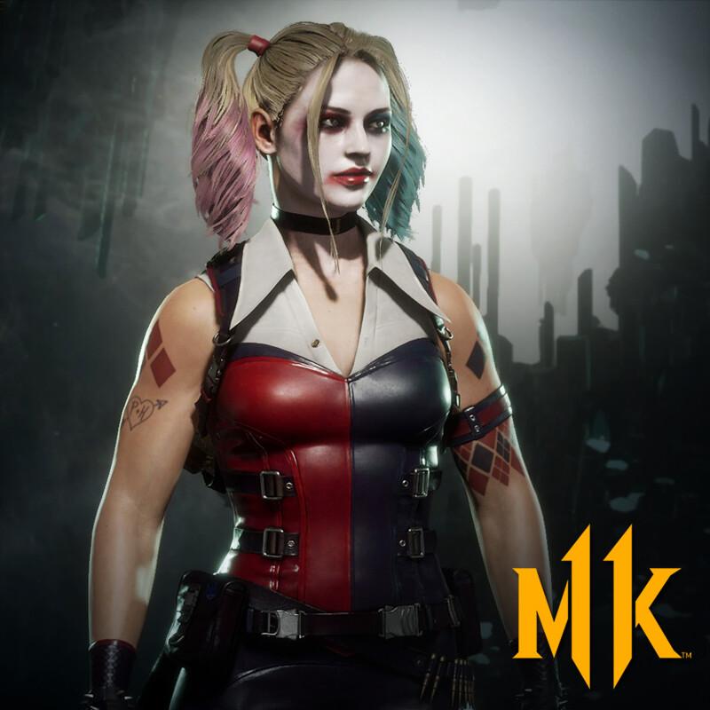 Cassie Cage - Harley Quinn (Mortal Kombat 11)