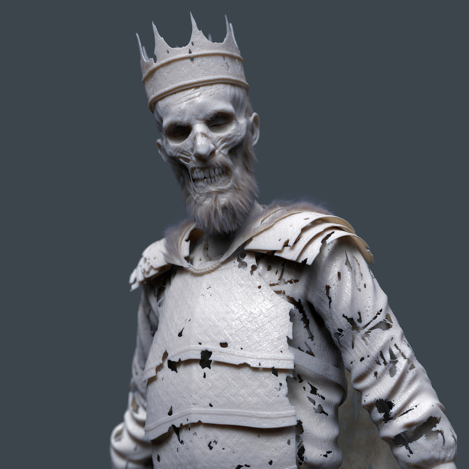 Undead King Model