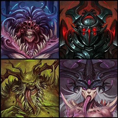 Klaher baklaher klaher baklaher gods of chaos va
