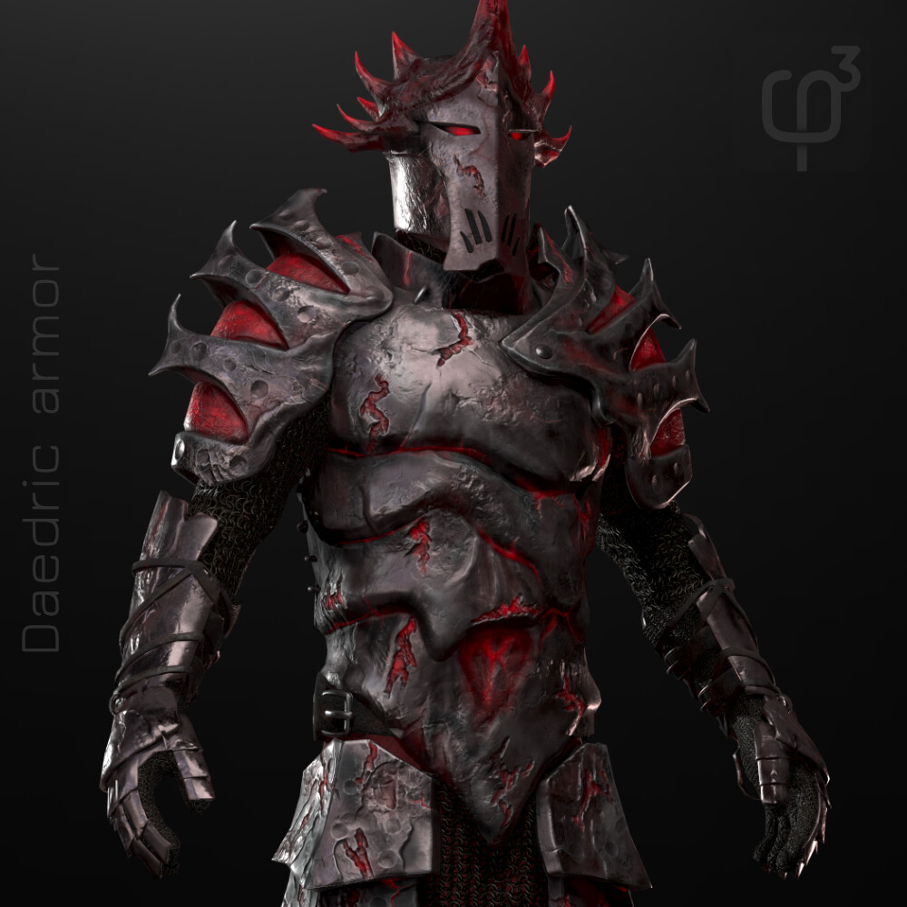 Daedric armor set