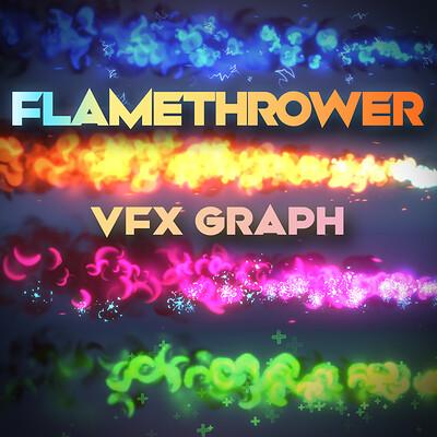 Gabriel aguiar gabriel aguiar unityvfx flamethrower squarethumbnail v4 1