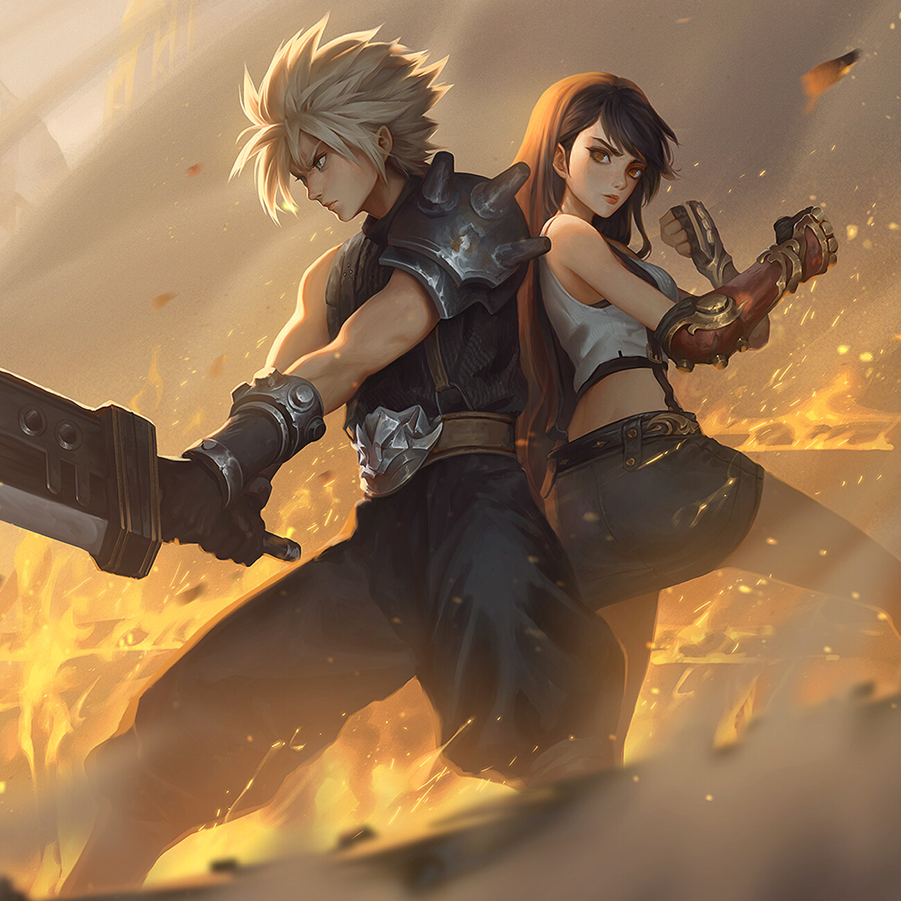 Final Fantasy 7 - Fanart