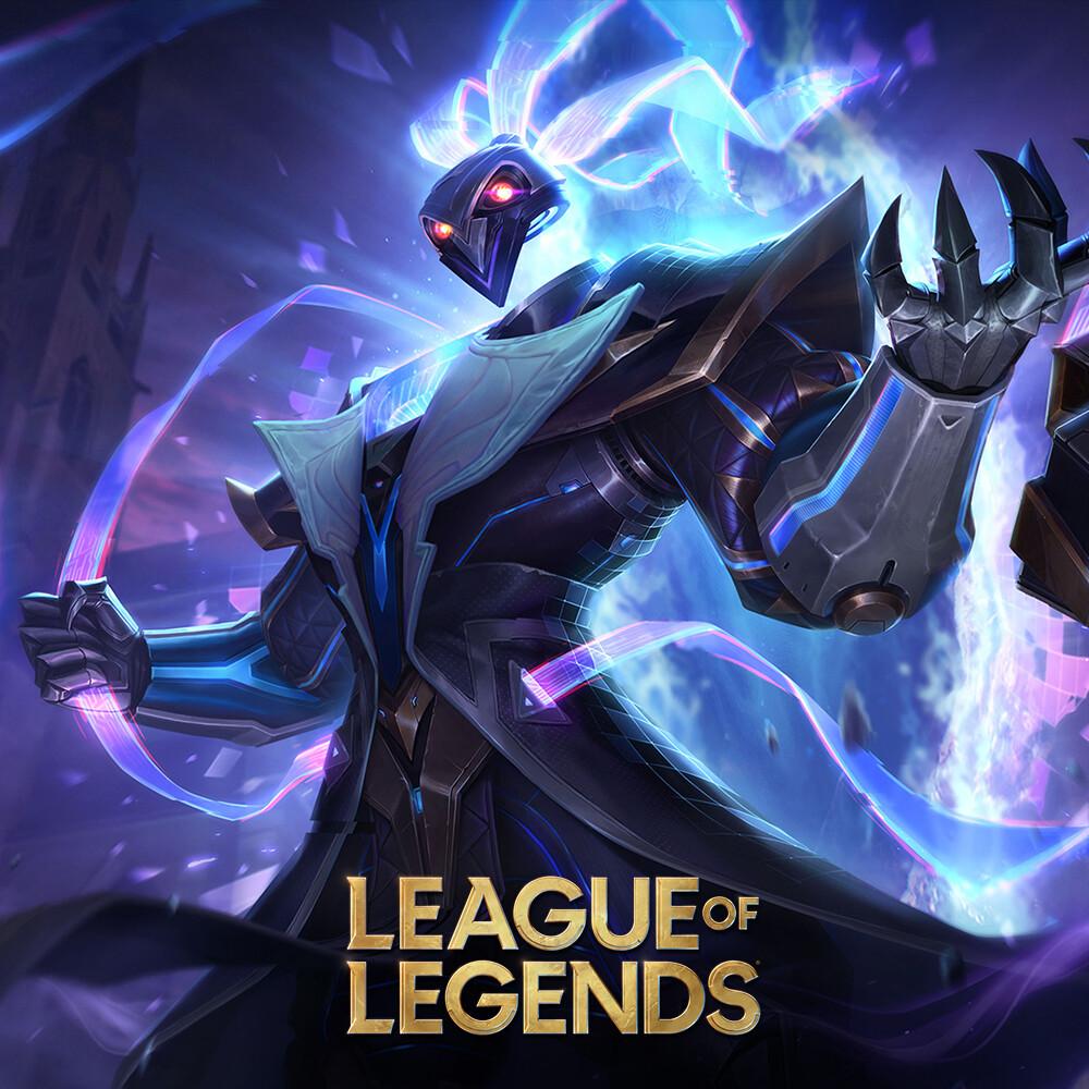 Pulsefire Thresh - League of Legends Splash Art
