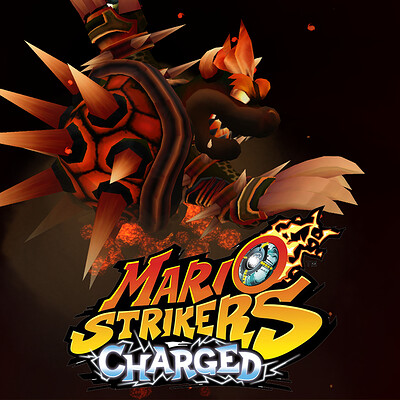 Mario Strikers Charged Art Direction