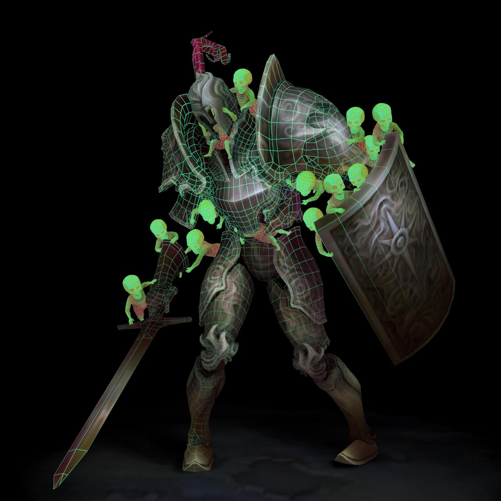 Legion Tribute - 3D Character Model