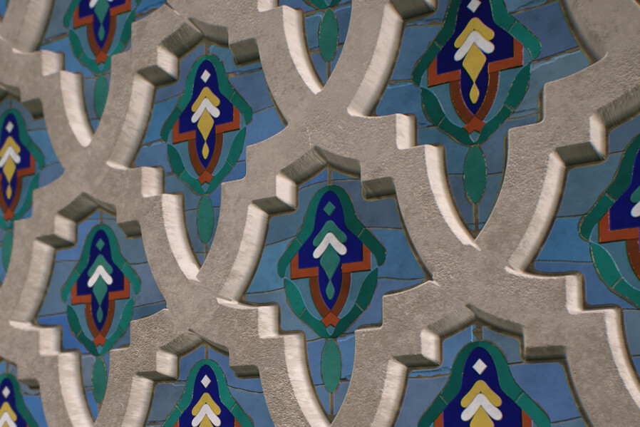 Procedural Texture - Inspired by Moroccan tiles