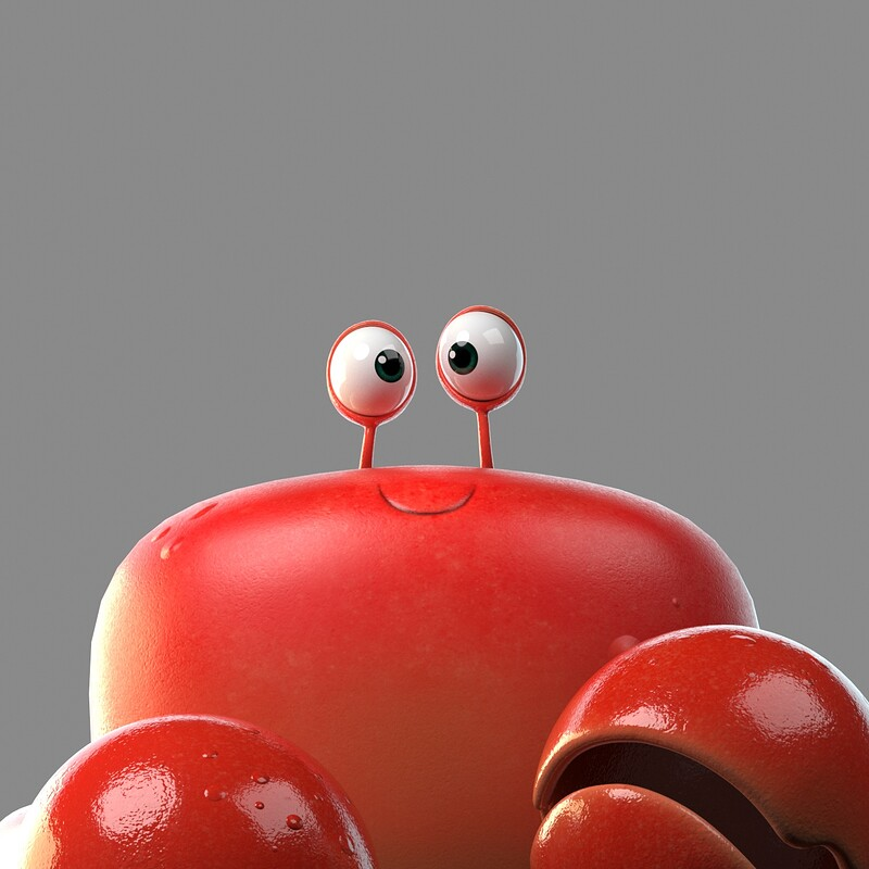 Crabby the Crafty Crab