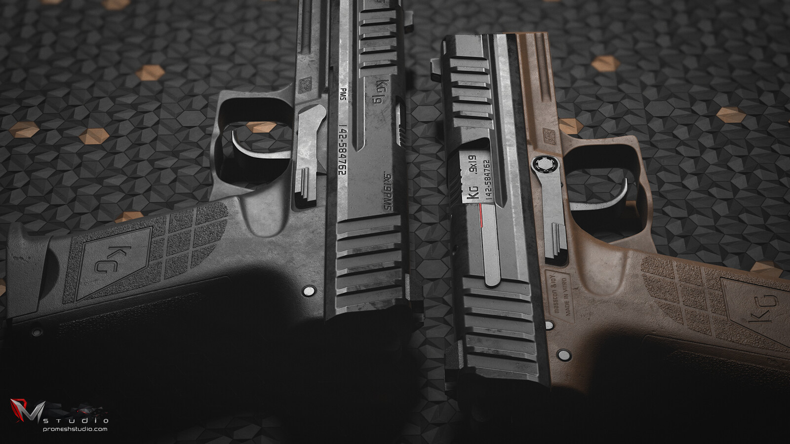 PMS KG19 Pistol