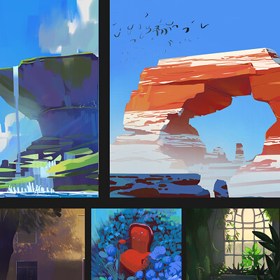 Daily studies and Speedpainting Collection