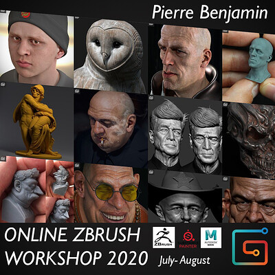 Pierre benjamin banner workshop 2020 square format