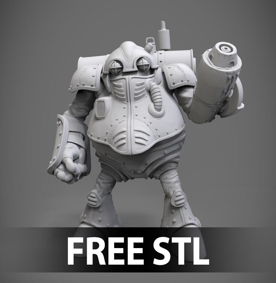 Chrono Trigger - ROBO Free STL