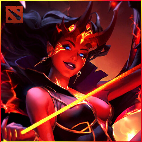 Artstation Arcana Queen Of Pain Dota 2 Loading Screen Animation