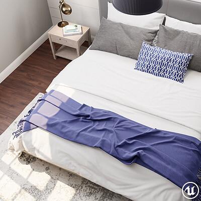 UE4: Daytime Bedroom