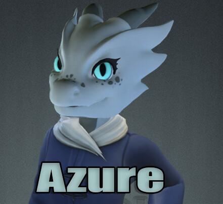 Azure - Kobold Character