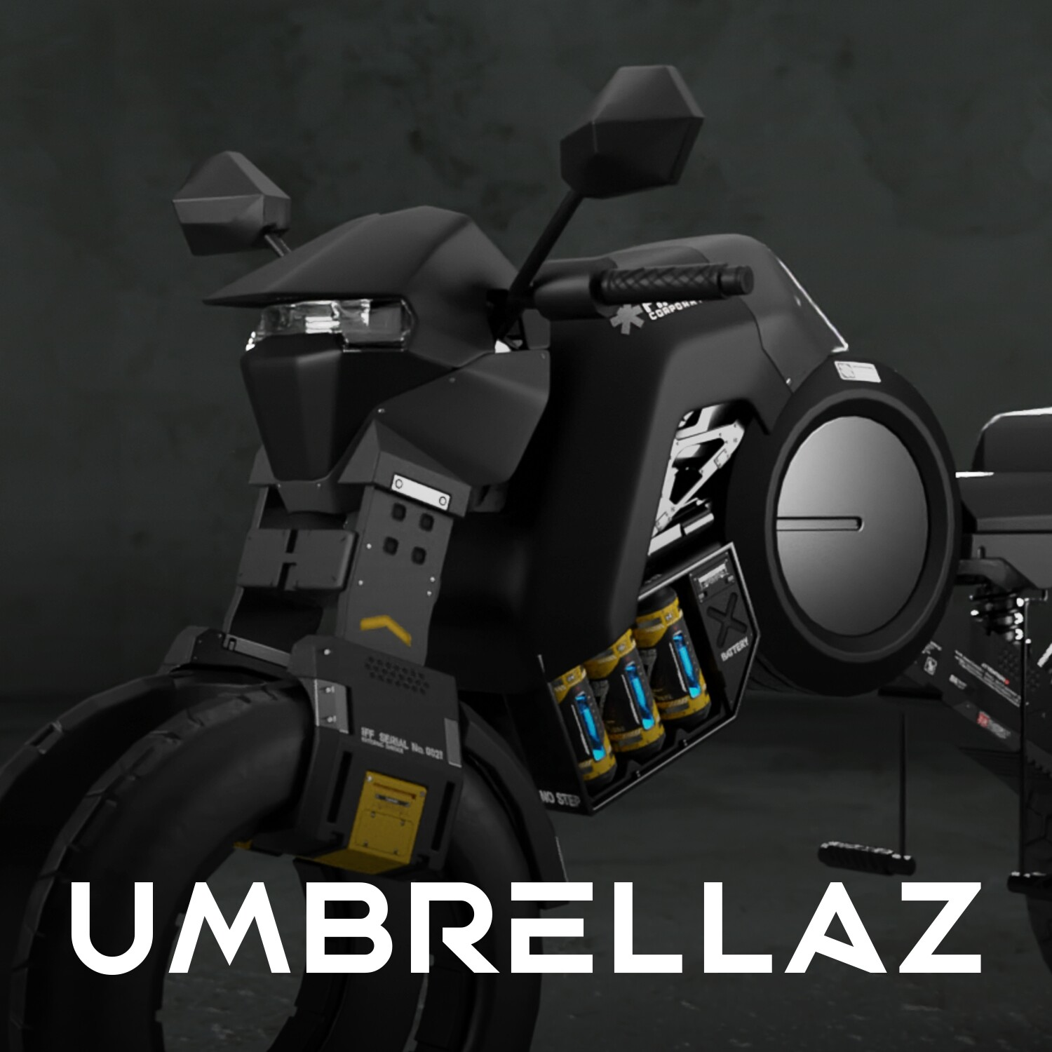 UMBRELLAz - Electric Motorcycle 01