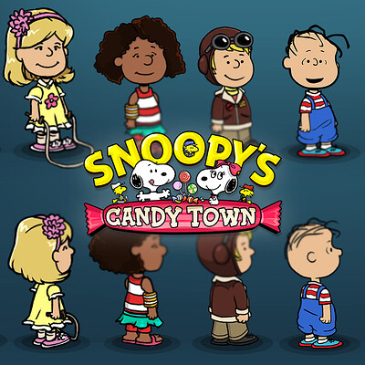 Snoopy's Candy Town