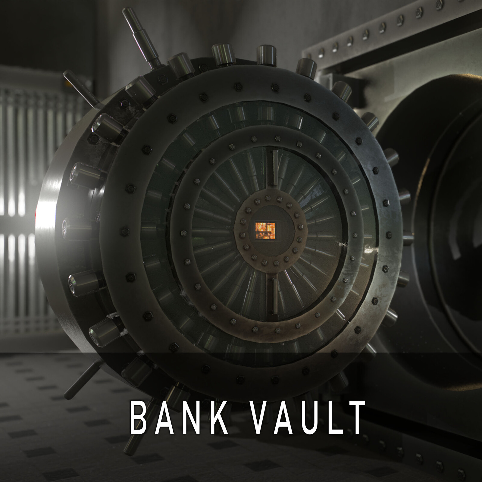 Secure Bank Vault