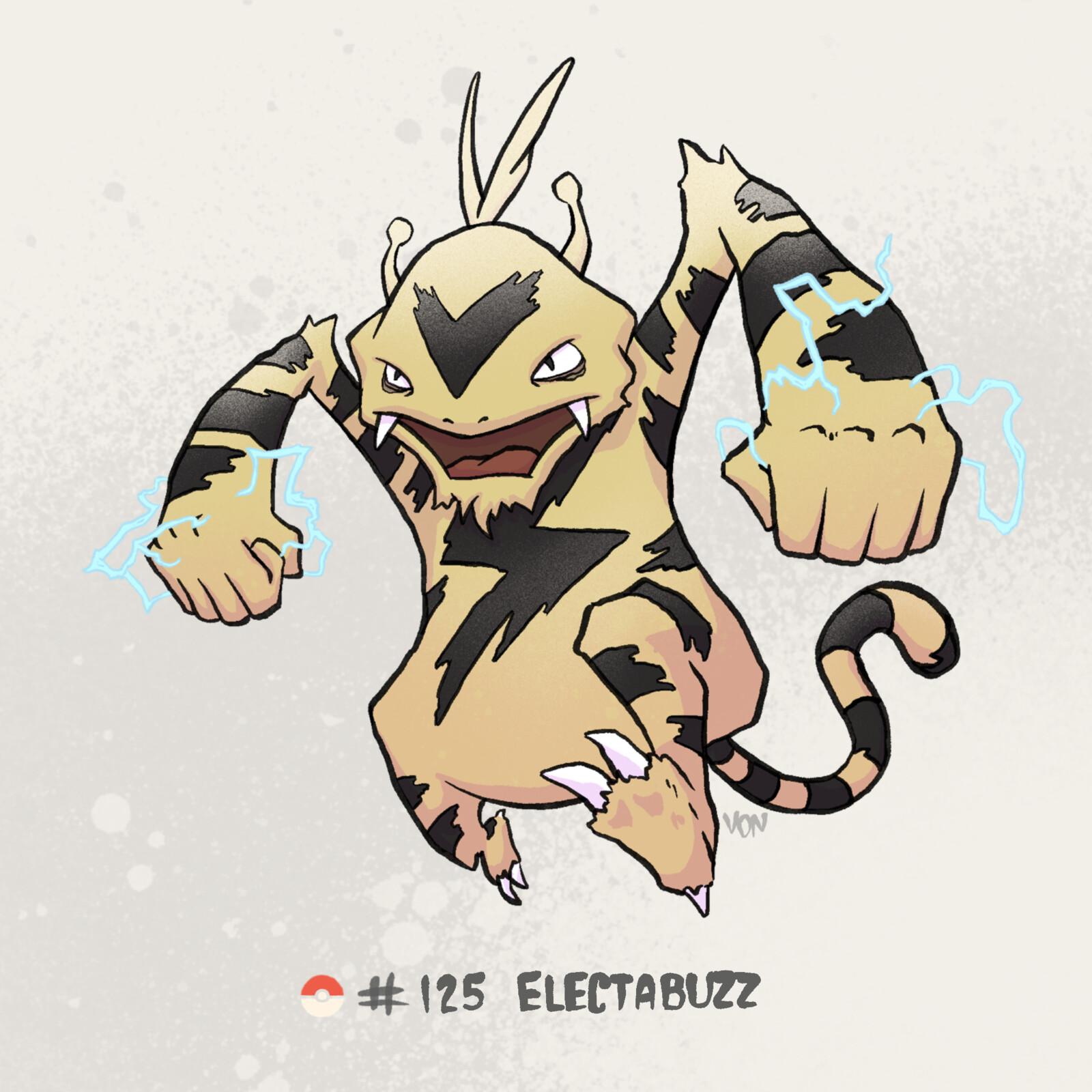 #125 Electabuzz